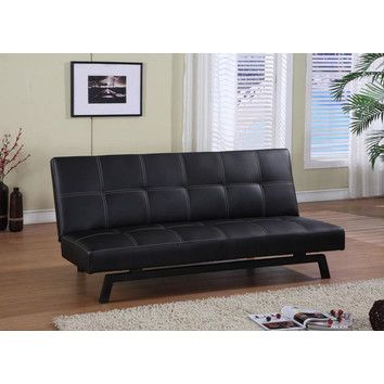 Outstanding Inroom Designs Inroom Designs Klik Klak Vinyl Sleeper Sofa Bralicious Painted Fabric Chair Ideas Braliciousco