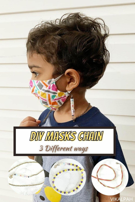 Diy masks chain in 2020 diy mask mask for kids diy for