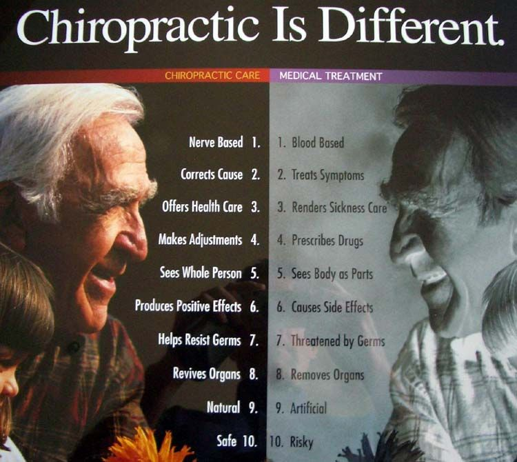 Chiropractic is different whitmire chiropractic