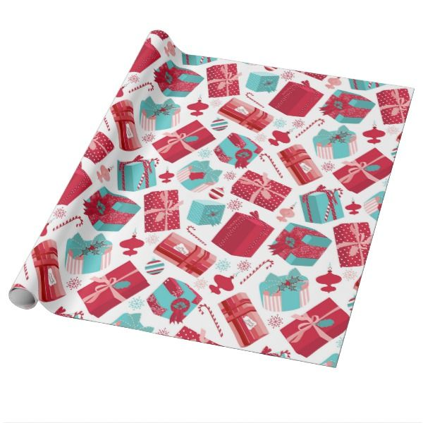 Christmas Gift Wrapping Paper Gift wrapping paper, Christmas gifts