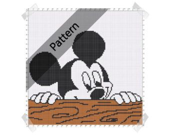 mickey mouse minnie disney crochet knit von thewoodenchest mickey pinterest. Black Bedroom Furniture Sets. Home Design Ideas