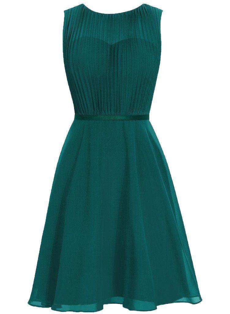 Vestido verde fiesta amazon