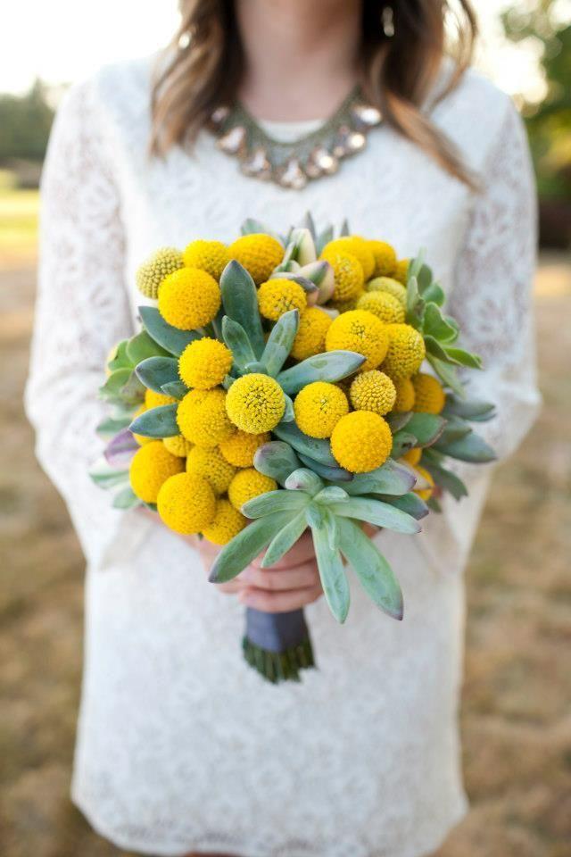 60 cheerful billy balls yellow wedding ideas yellow weddings wedding flowers for every season mightylinksfo