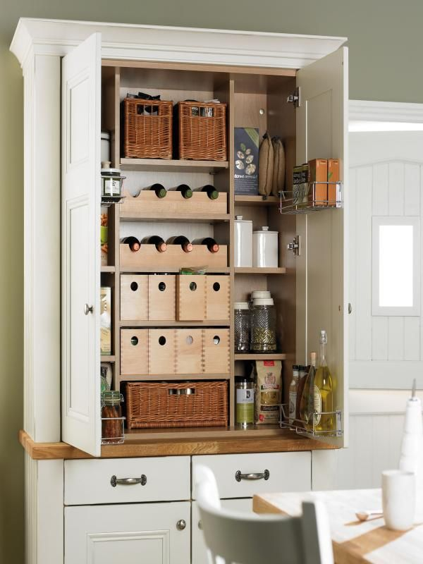 country kitchen - idea to save some space | white kitchen