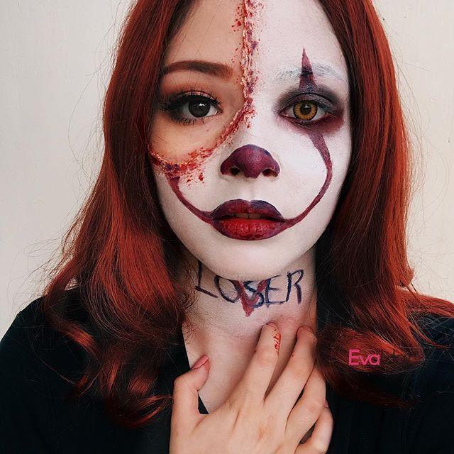 Photo of Pennywise Patricia Echeverria für Ihr Halloween Make-up 2017 !!! Das Haar ist rötlich – Eventplanung