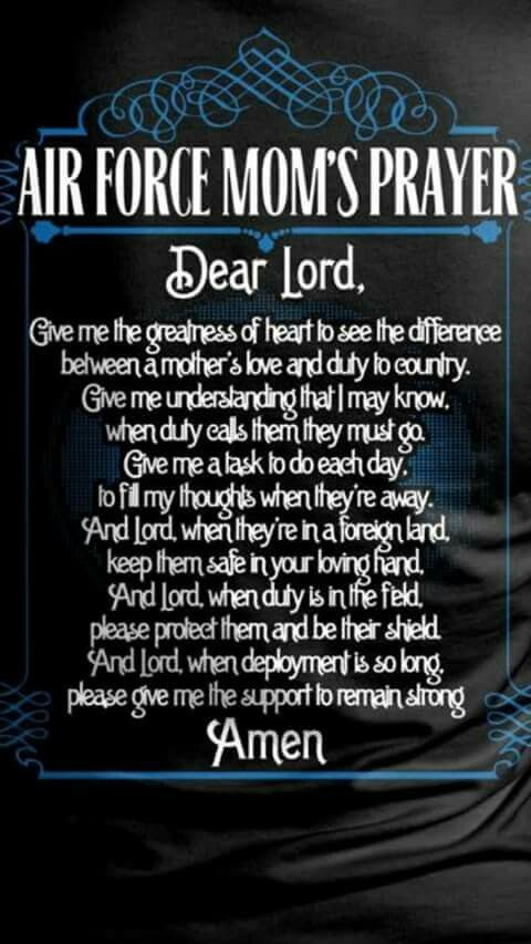 Mothers Prayer For Her Child In The Military  Air Force -2762