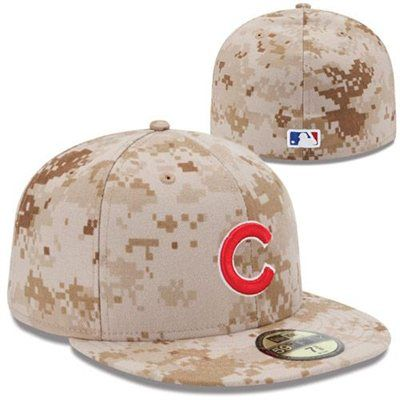 New Era Chicago Cubs 2013 Memorial Day Stars   Stripes 59FIFTY Fitted Hat -  Digital Camo dabb9c38592