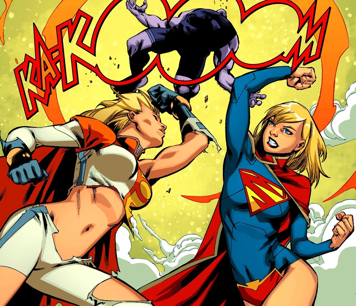 and supergirl girl power