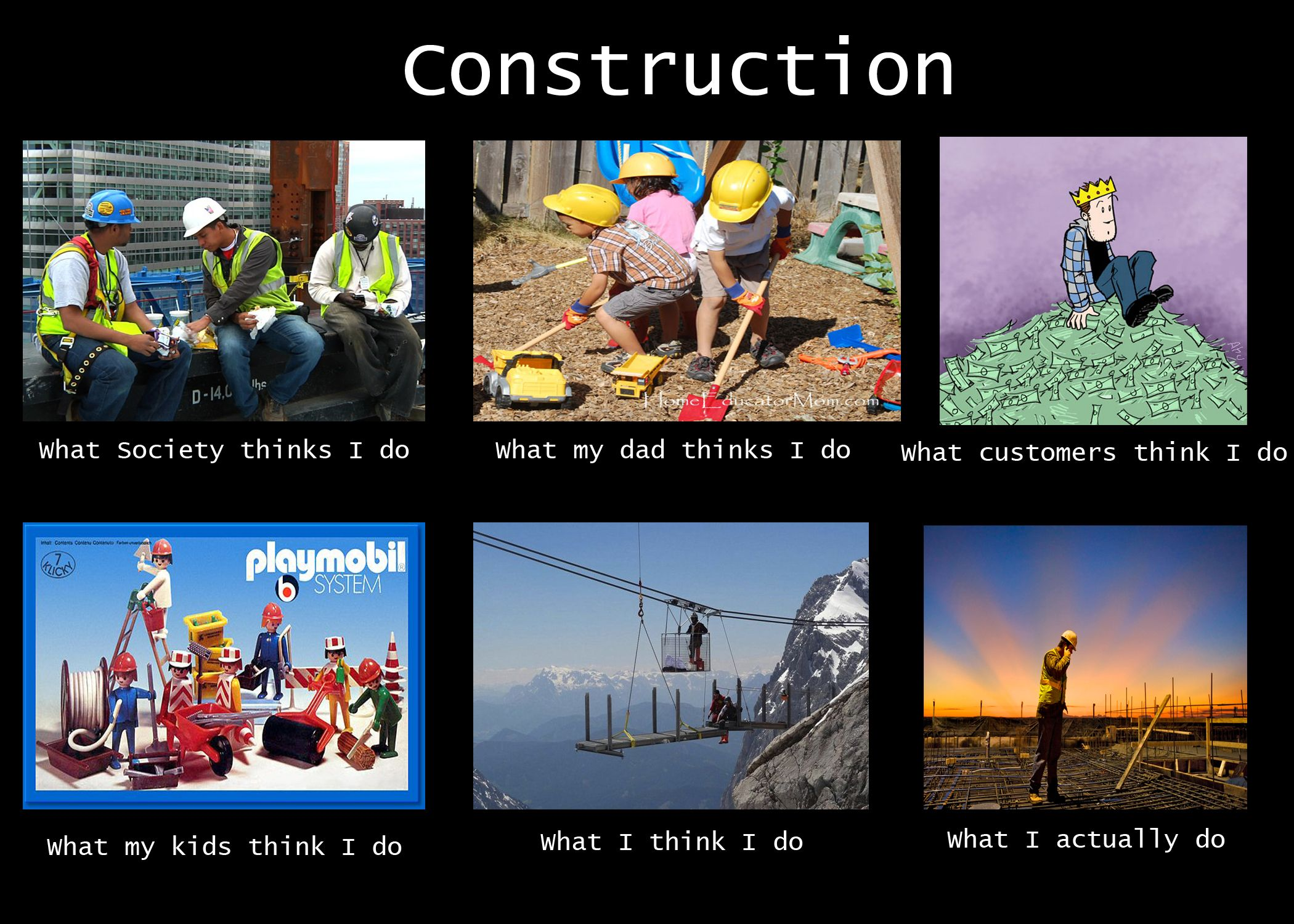 How the world sees construction workers | Construction ...
