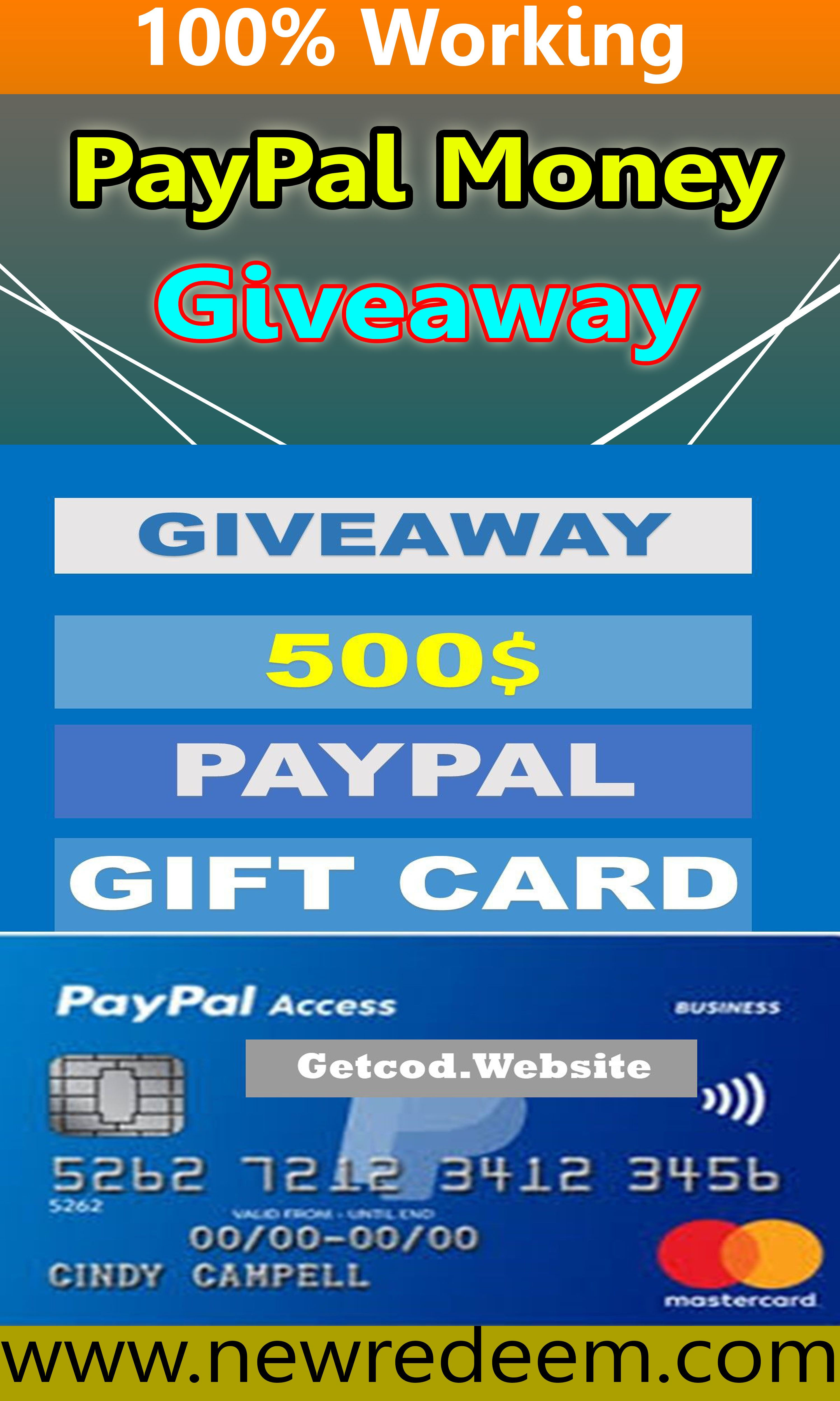 Free PayPal Gift Card Unused Codes Generator 2020.its very