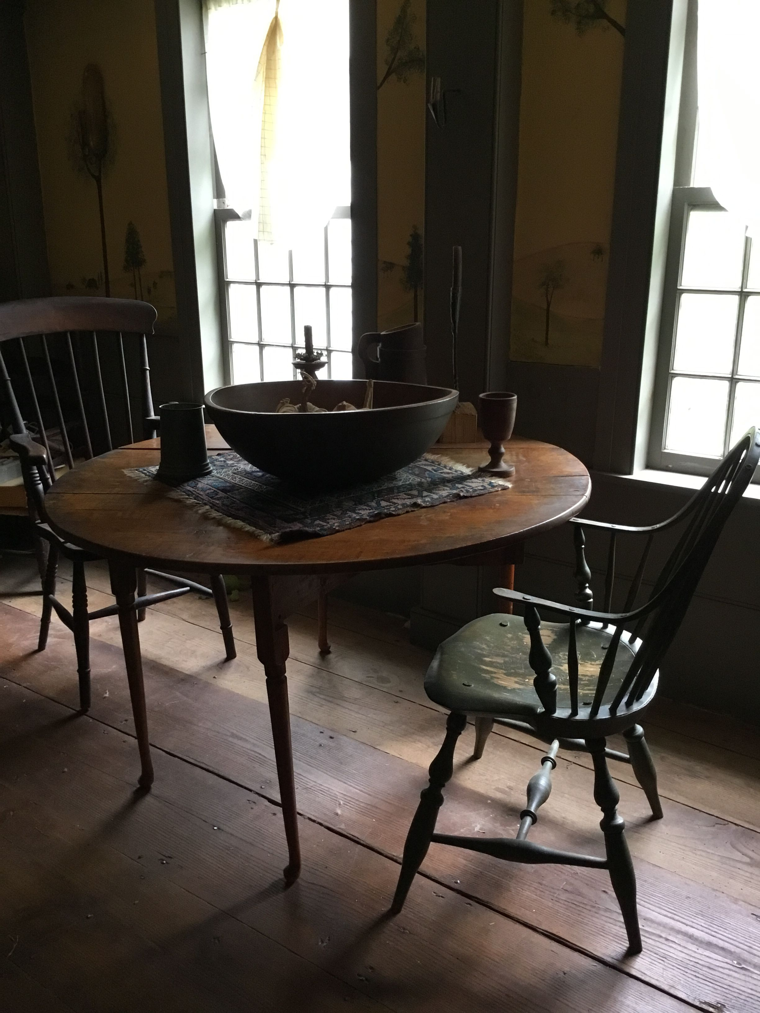 Primitive Table Amp Chairs Primitivediningrooms