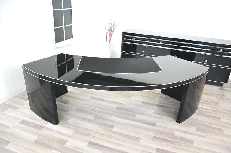 Bedroom Mesmerizing Black Glass Office Desk 9 Lovely 17 Large Black Glass Desk Glass Office Glass Desk Office