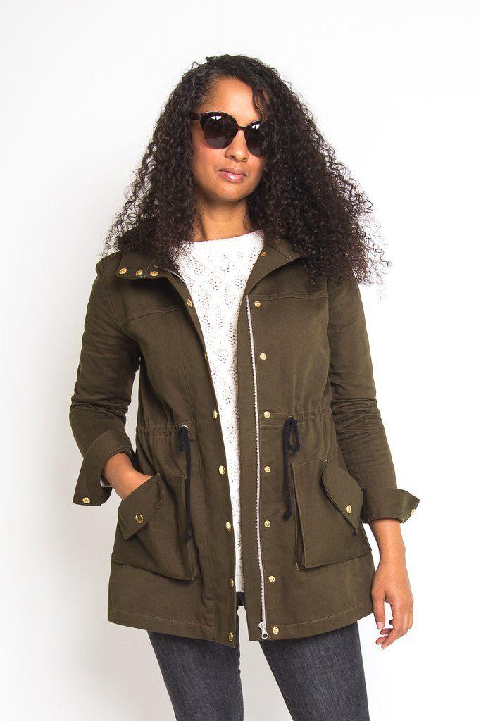 Kelly Anorak Jacket Pattern | Inspiration femmes | Pinterest ...