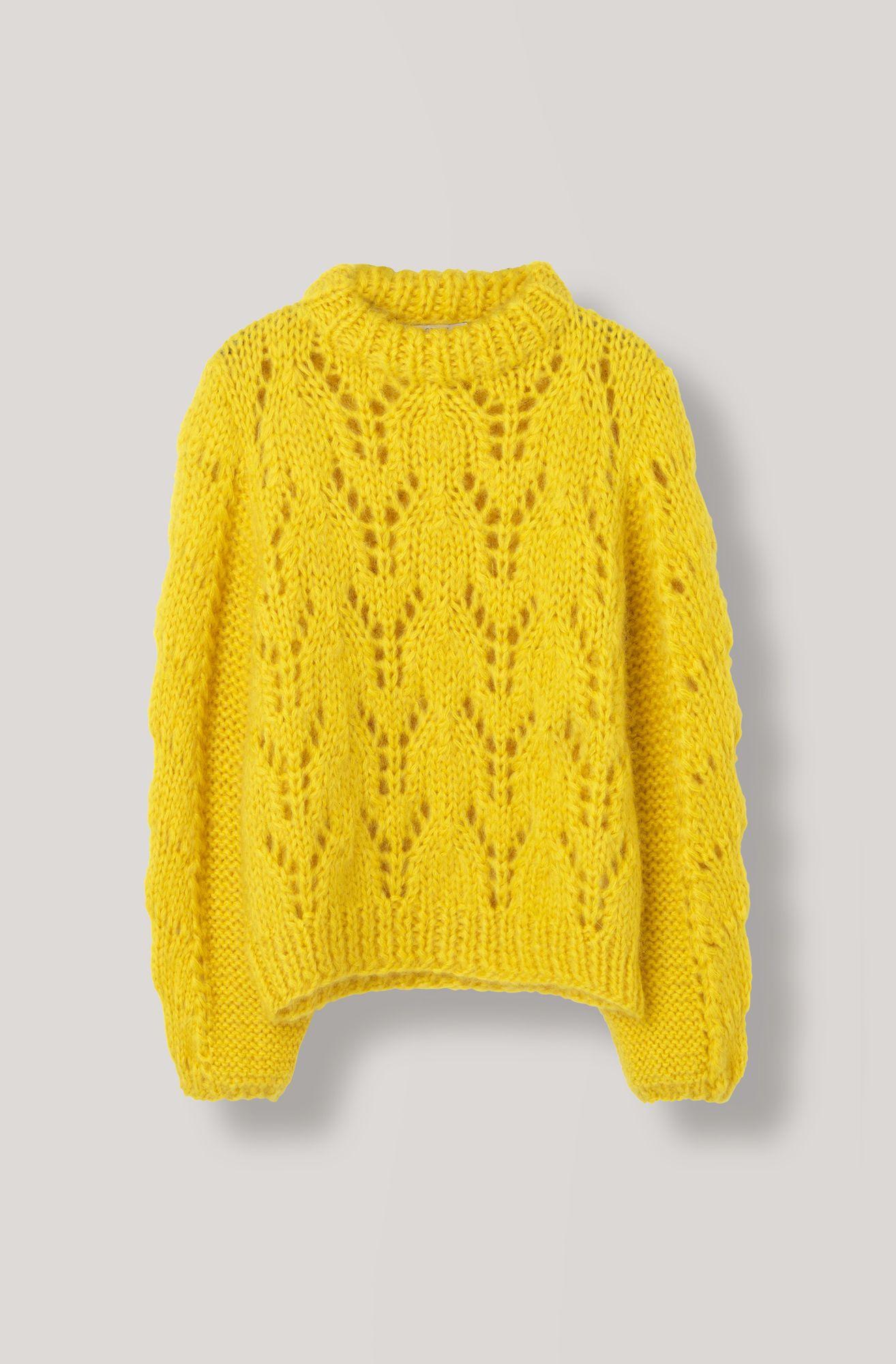 2121400f35c The Julliard Mohair Pullover, Lemon | Knit in 2019 | Pullover ...