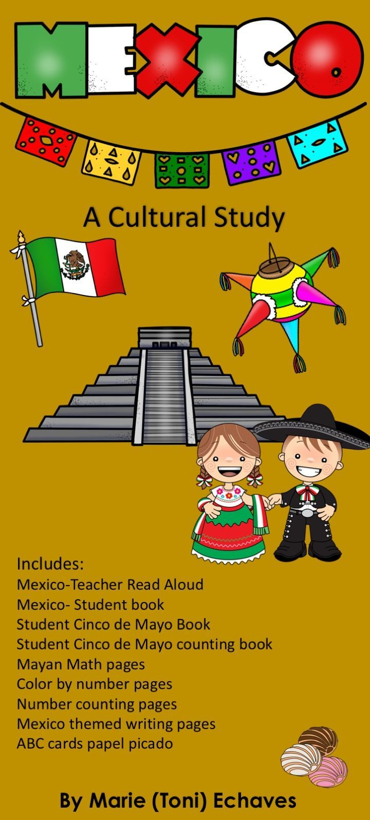 Mexico a Cultural Study & Cinco de Mayo | Word wall letters, Reading ...