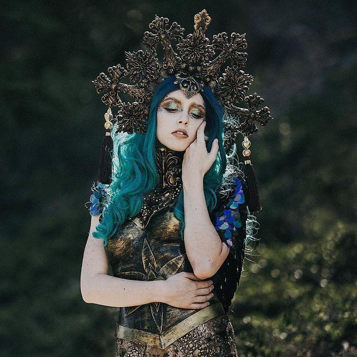 Elysian Fantasy Artistry wearableart I'm A SelfTaught