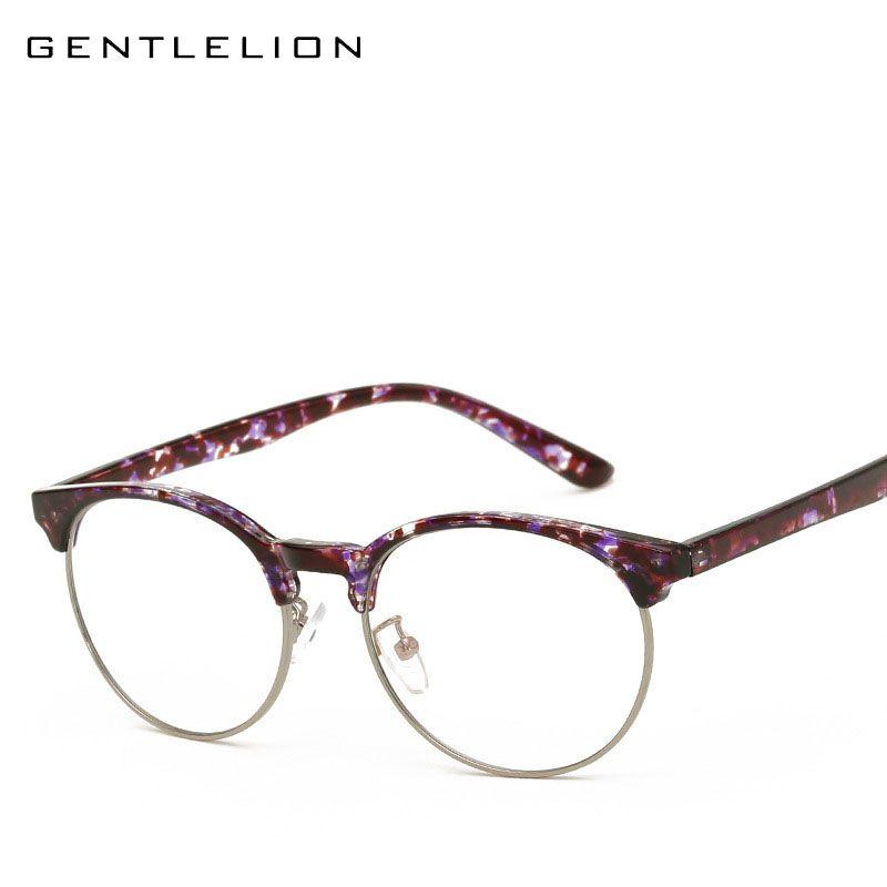 9d4e20a45367 Click to Buy    Women s Elegant Half Frame Eyecat Eyewear Frames Fashion  Brand.