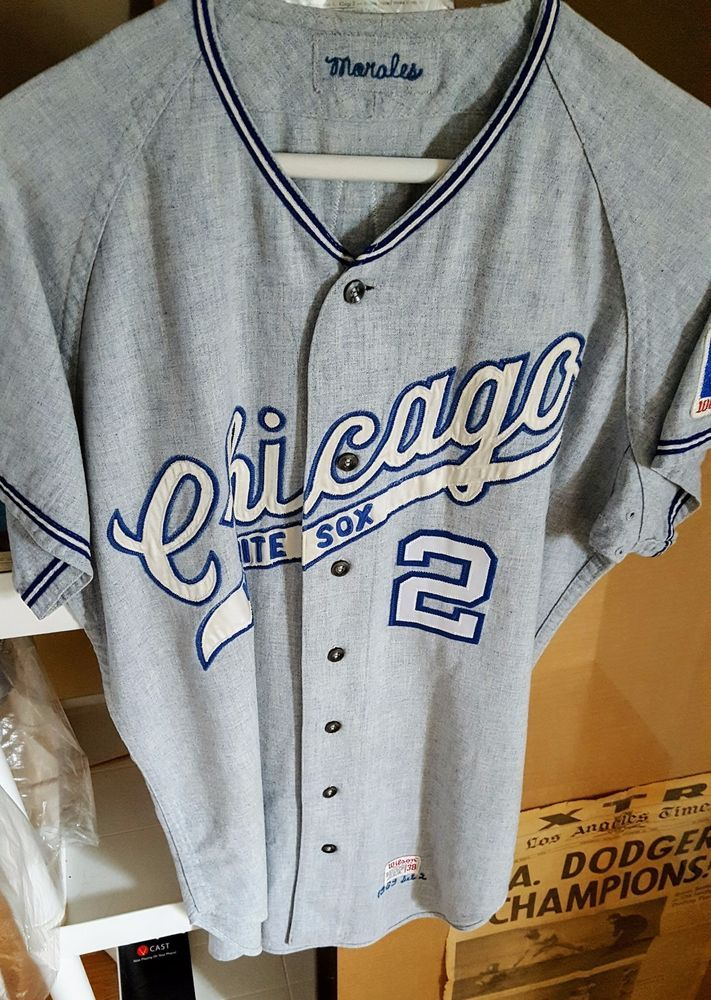 345b64a1bb5 Details about Game Worn Jersey 1974 Chicago White Sox Game Used ...