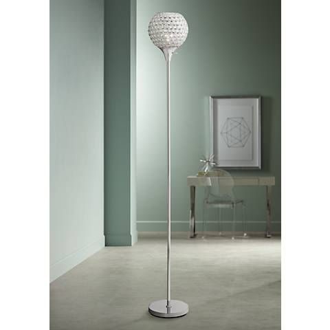 Warwick Tree Torchiere Led Floor Lamp With Edison Bulbs 32y35 Lamps Plus Floor Lamp Led Floor Lamp Edison Bulb