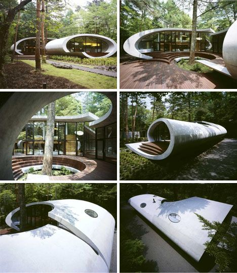 Architecture, Kotaro Ide/ Shell House / Beauty Of Nature