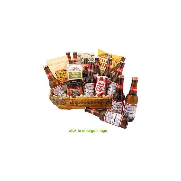 Budweiser Enthusiast Beer Gift Basket