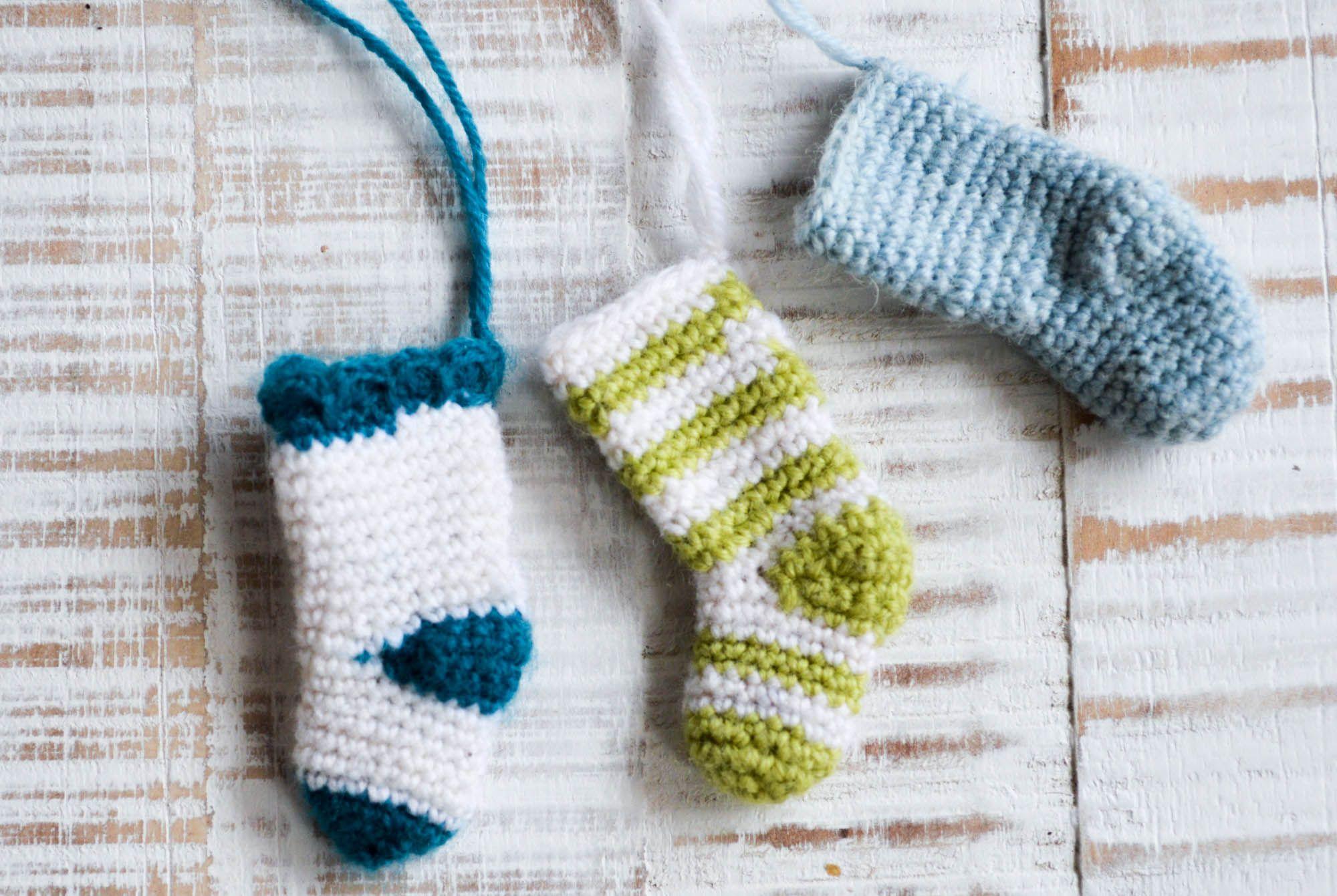 Geschenkanhänger in Sockenform Stärke 2,5-3