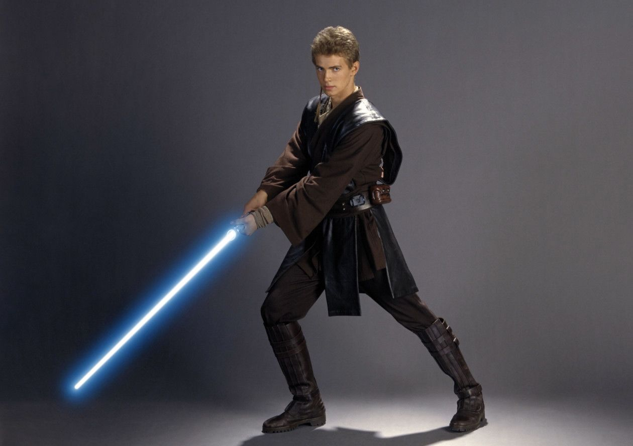 Learning To Strike With His Light Saber Star Wars Episode Ii Star Wars Anakin Star Wars