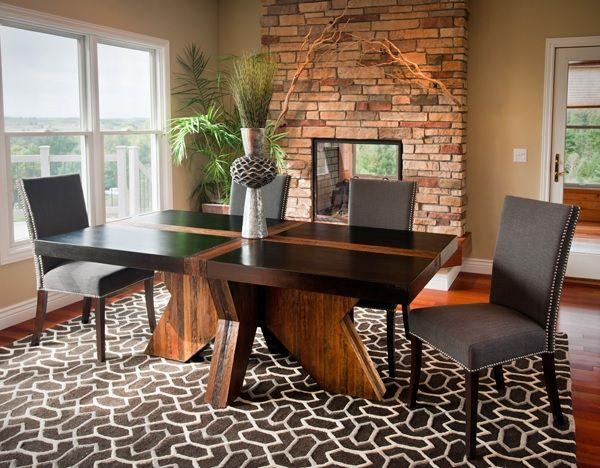 Rustic Furniture Unique Dining Tables in 2019 Rustic