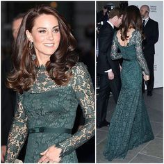 The Duchess of Cambridge attended the 2017 National Portrait Gala to help raise funds for the National Portrait Gallery's work in showcasing inspirational displays, offering learning opportunities and undertaking research. Her host, Gillian Wearing, gave her a tour of the newest exhibits and special collections, explaining the significance of the works featured. Kate was shown exhibits including Howard Hodgkin: Absent Friends, and Gillian Wearing and Claude Cahun: Behind the mask, another…