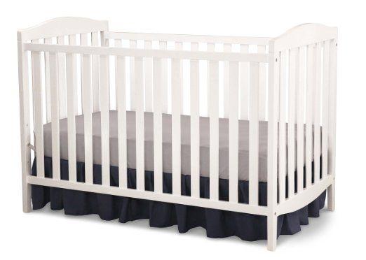 Delta Children Capri 3-in-1 Crib, White