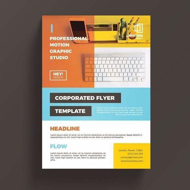 Kreative Flyer Vorlage Vorlage Zum Kostenlosen Download Auf In 2020 Business Flyer Templates Flyer Template Flyer