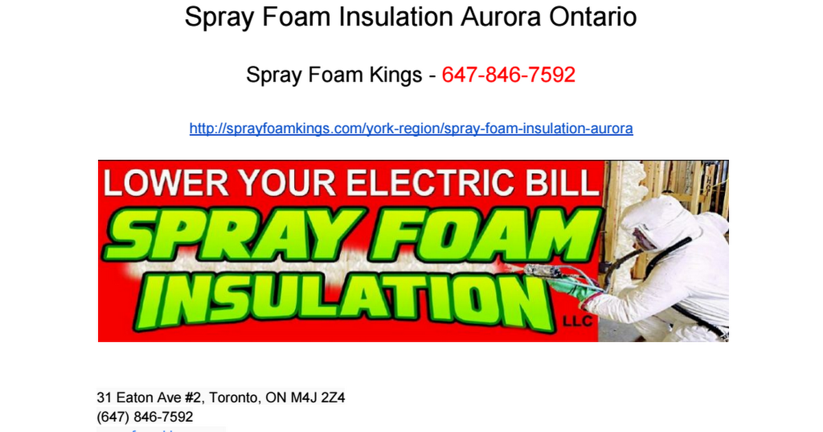 Nick Hayes on Spray foam, Toronto, Spray foam insulation