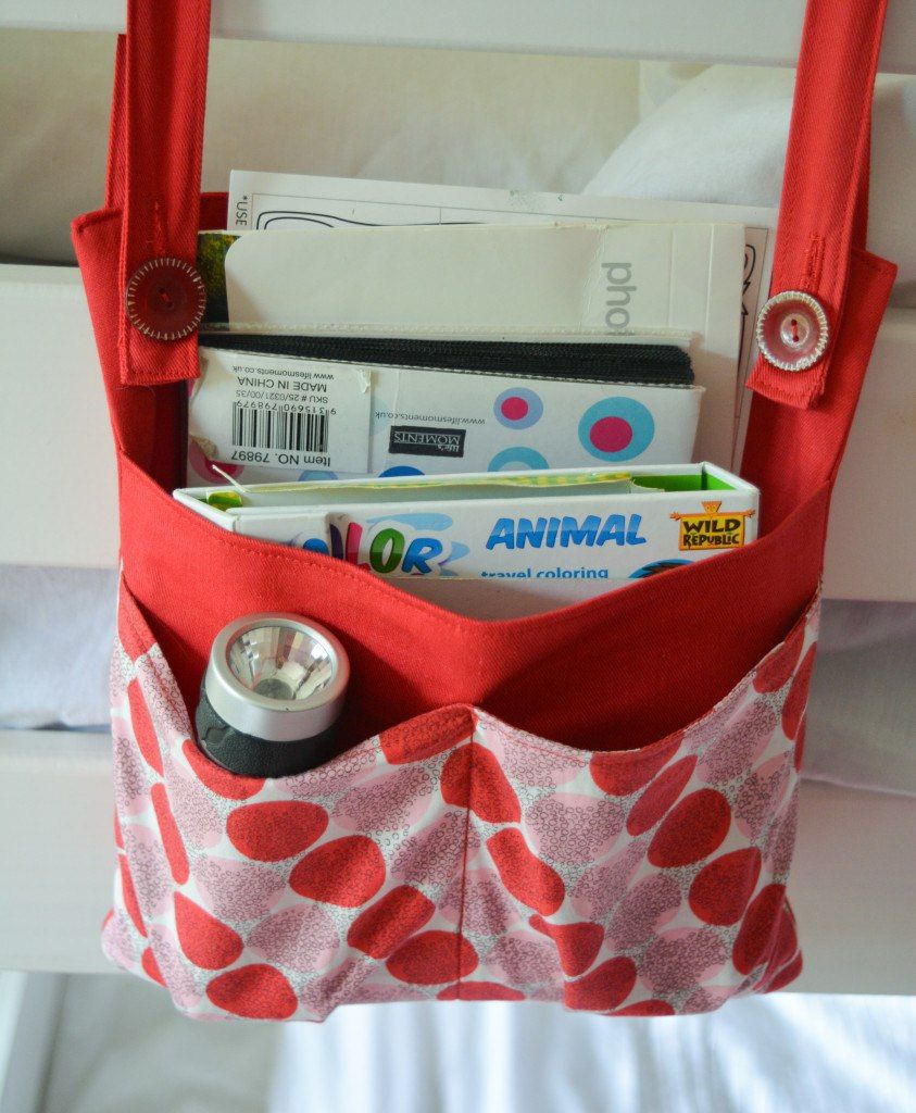Diy Bunk Bed Storage Bag Organizer Organize Me Pinterest Bag