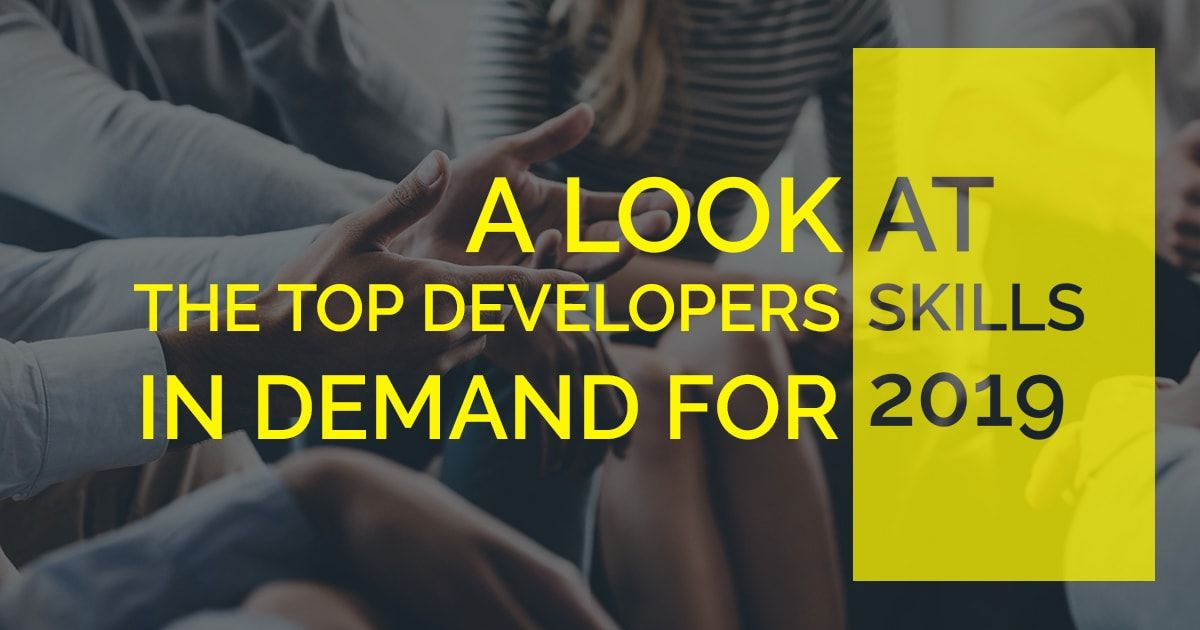Most In Demand Developer Skills For 2021 Upgrade Yourself Skills Development Top Software