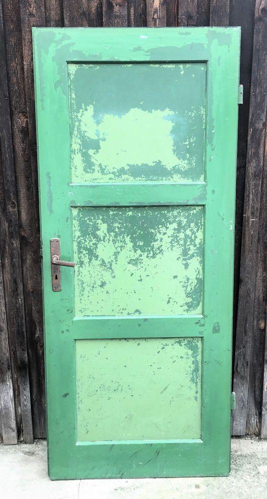 Schöne alte Tür mit außergewöhlicher Patina | Antike Baustoffe ...