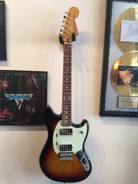 Fender Pawn Shop Mustang Special 2012 Sunburst Gig Bag | Reverb