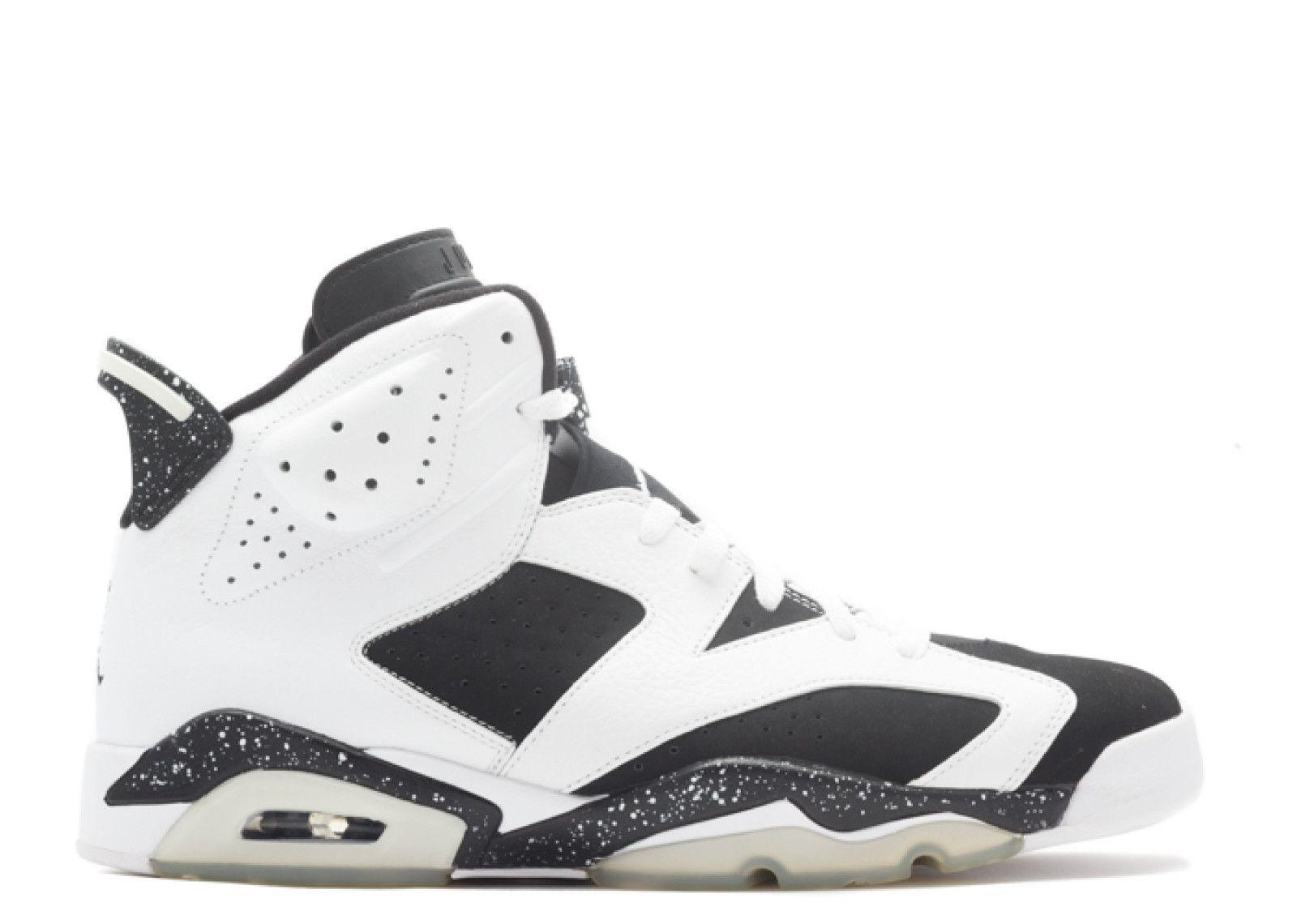 Authentic Air Jordan 6 Retro Oreo White Black