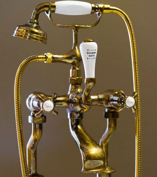 Kenny&Mason old brass bath shower mixer | Ideeën voor het huis ...