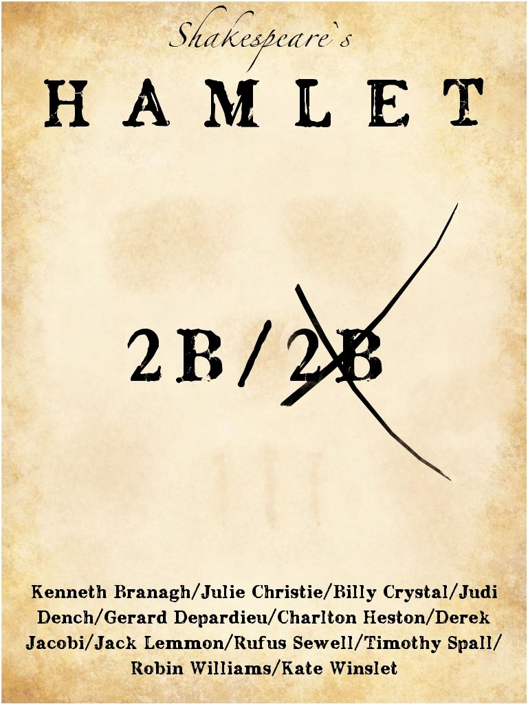 hamlet movie interpretation In making a complete version of 'hamlet' the play into a film, branagh and his script adviser  possible interpretation of one particular text.