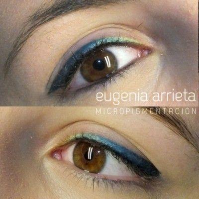 Micropigmentacion De Ojos Delineado Permanente De Ojos