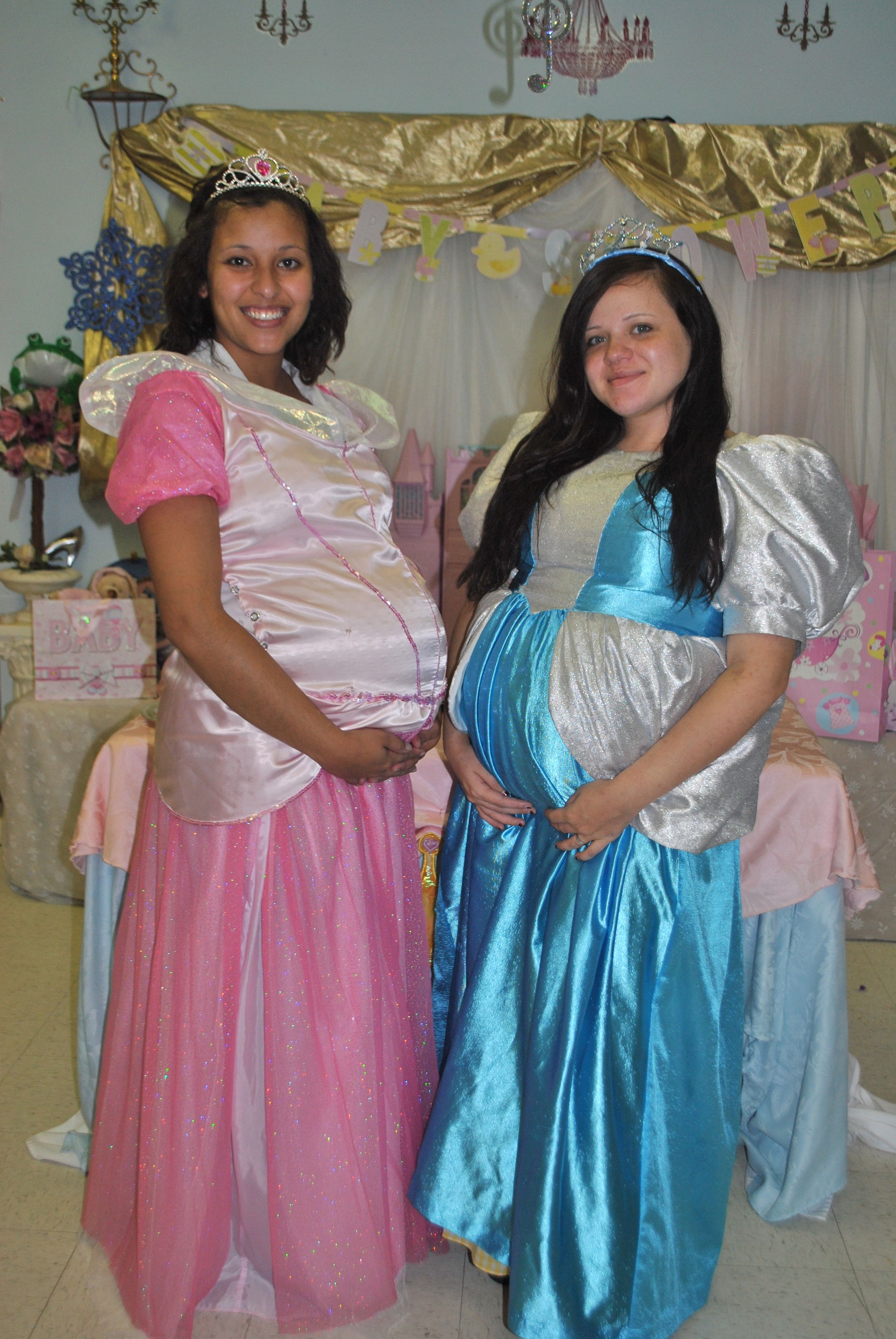 Pregnant Princesses My Niece Desi Baby Pinkshower With