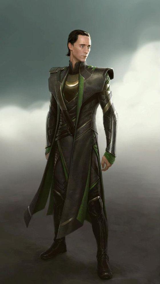 The Avengers Conceptual Art - Loki | Livin' La Vida Loki | Loki
