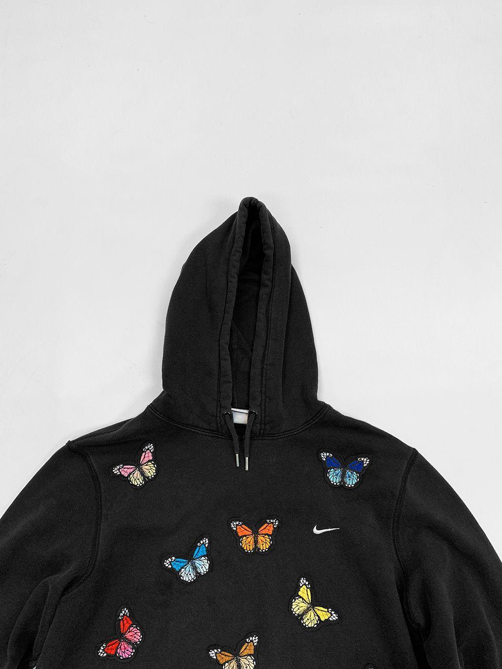 Nike 1 Of 1 Black Hoodie Medium Kyc Vintage Hoodies Urban Style Outfits Black Hoodie