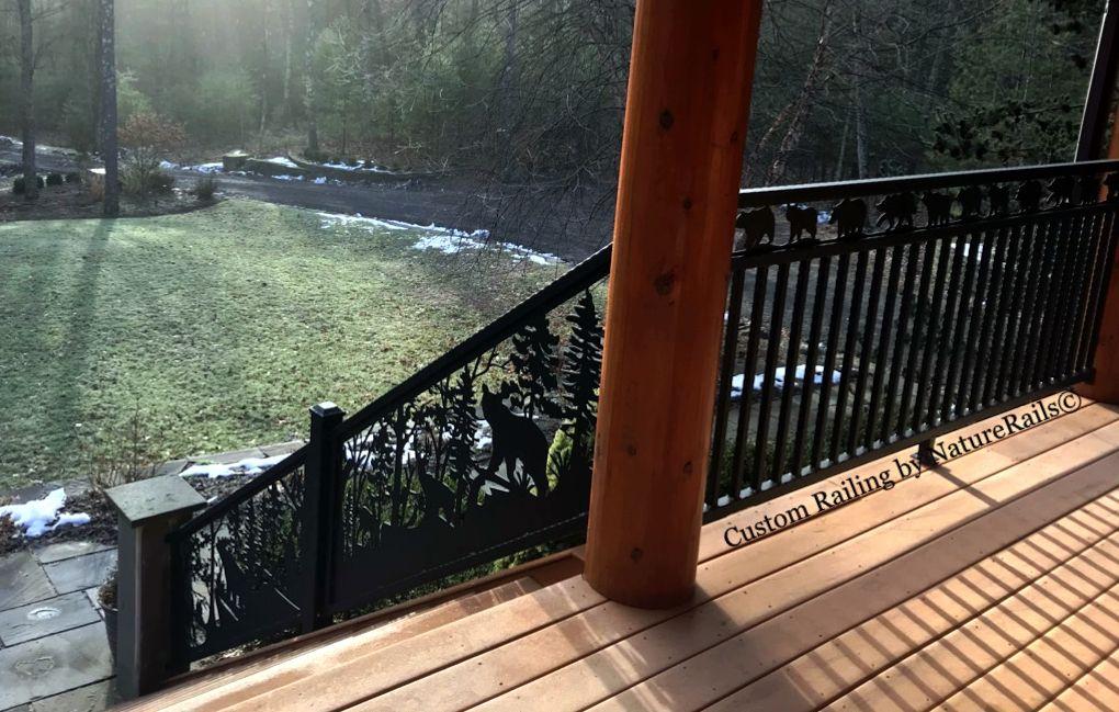 Best Deck Railing Panels By Naturerails Your Design Size 400 x 300