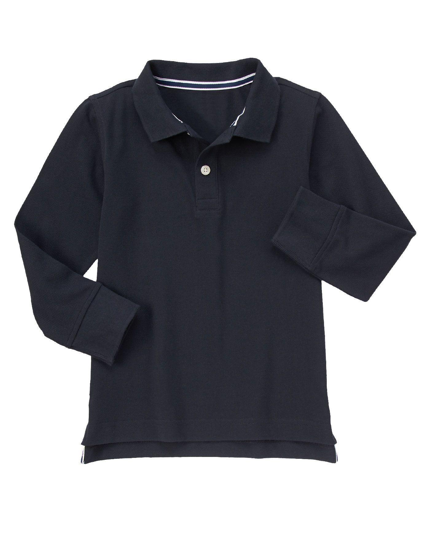Long Sleeve Polo Shirt At Gymboree Toddlerschooluniforms Toddler
