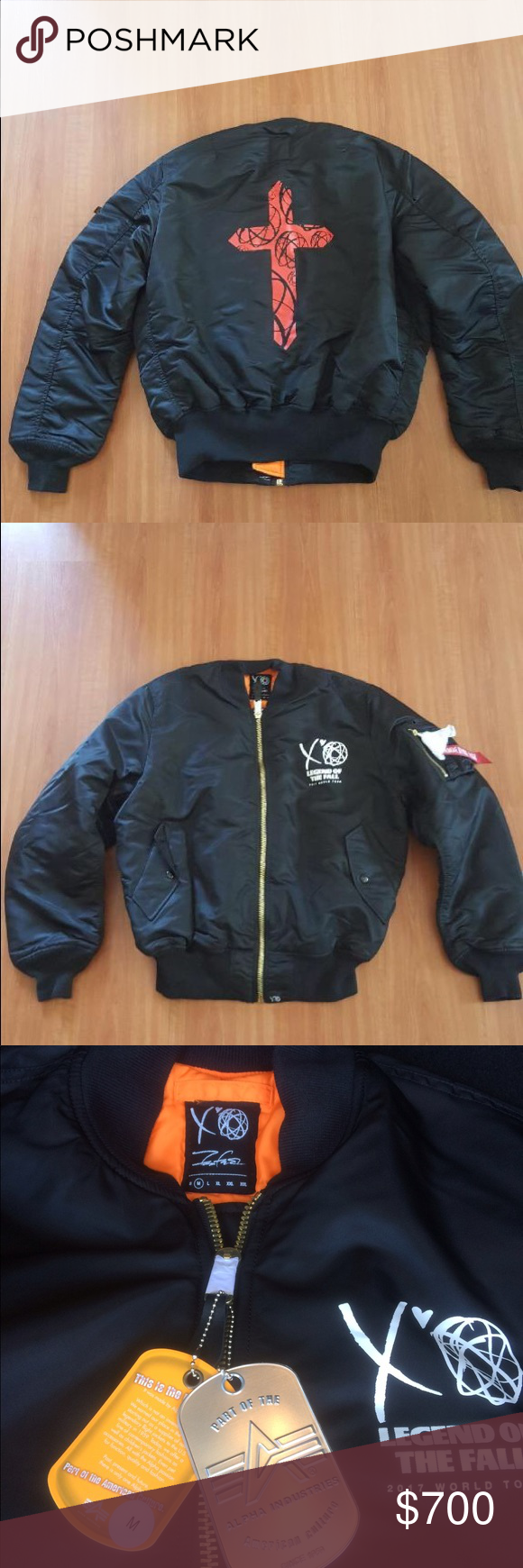 The Weeknd Starboy Futura Bomber Jacket Jackets Bomber Jacket Clothes Design [ 1740 x 580 Pixel ]