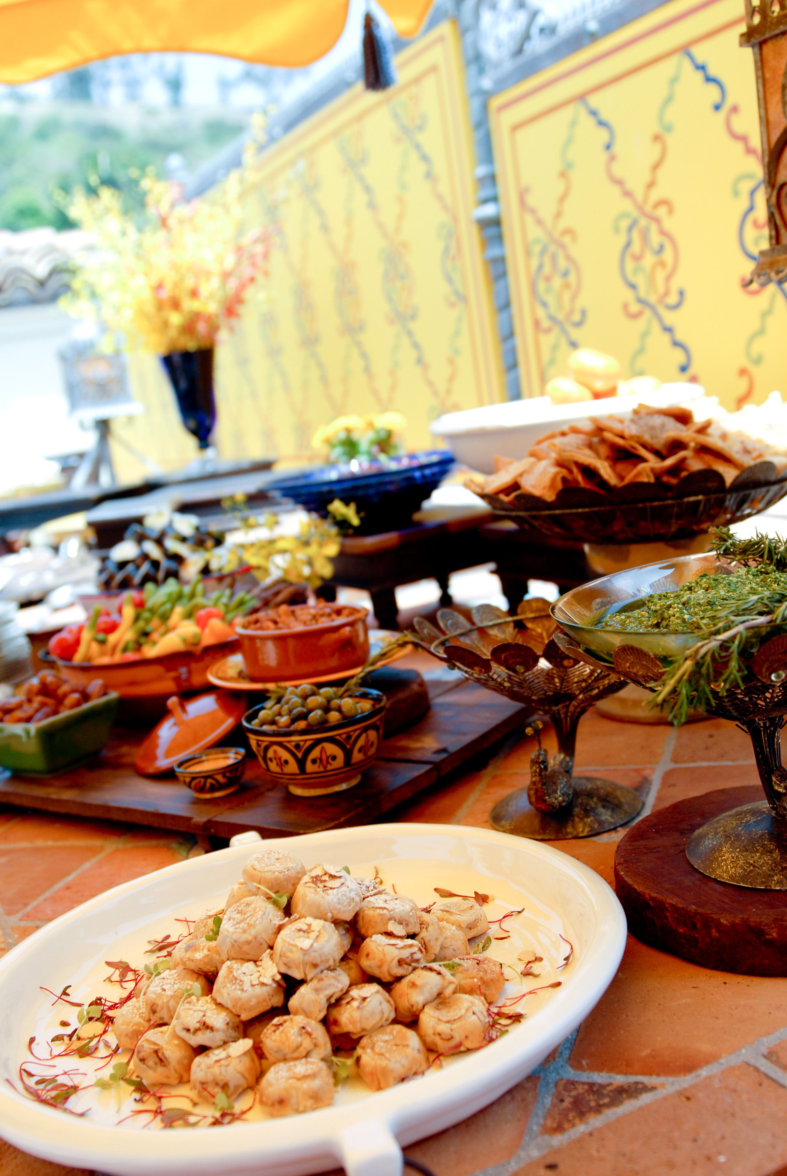 Middle Eastern Luncheon Event Catering Premium Food Catering Los Angeles