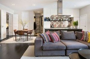 Nowadays open plan kitchen living room layouts becoming more and popular designed for also best small design ideas rh nz pinterest