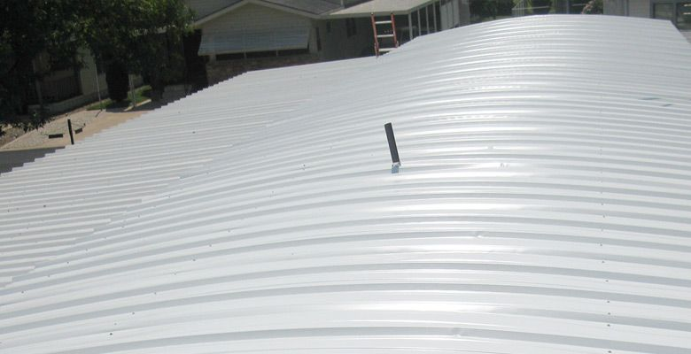 Mobile Home Metal Roofing Options Mobile Home Roof Roof Repair Mobile Home Repair
