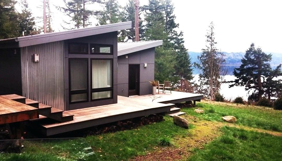 26 Stunning Small And Contemporary Prefab Easy To Build For You Http Tyuka Info 26 Stunning Small And Contempora Modular Homes Pod House Modern Prefab Homes